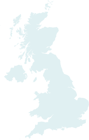 Map of U.K
