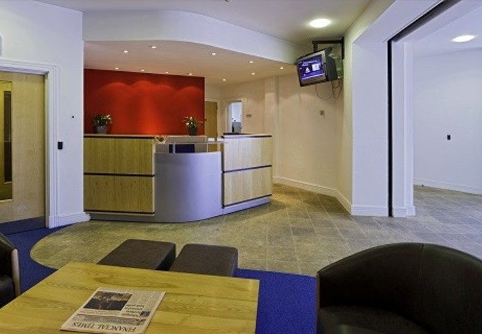 Berry Street AB10 office space – Reception