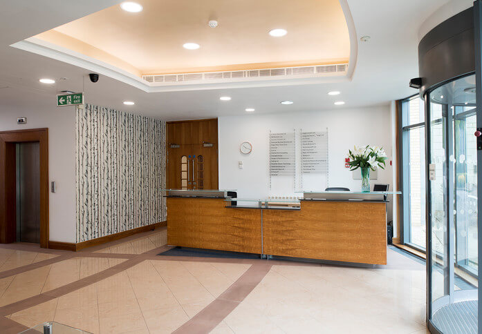 Frimley Road GU1 office space – Reception