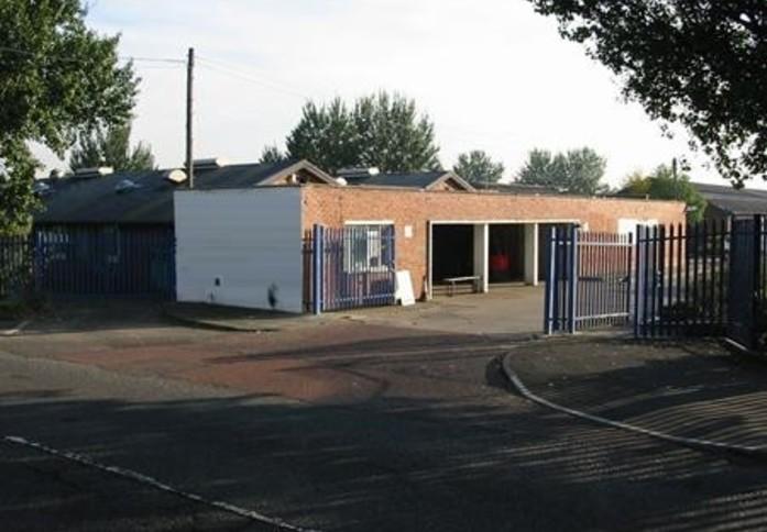 Green Lane NE8 office space – Building External