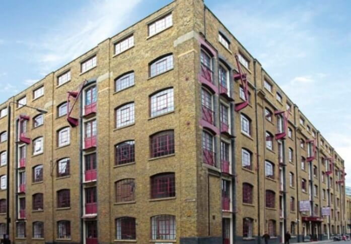 Back Church Lane E1 office space – Building External