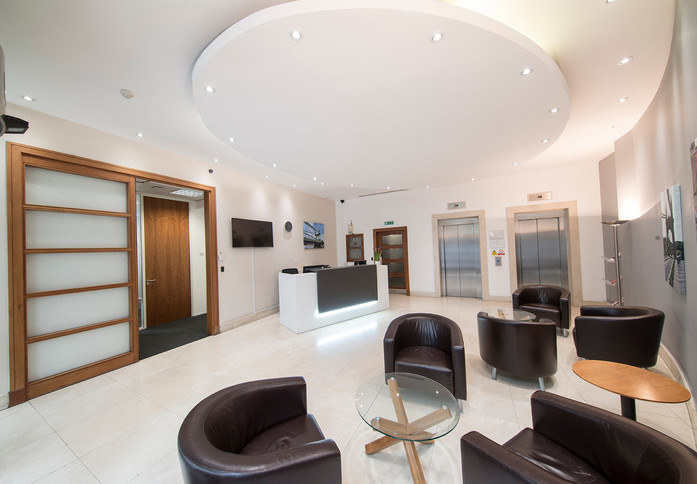 Queen Caroline Street W6 office space – Reception