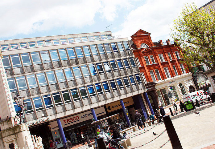 Market Place RG1 office space – Building External