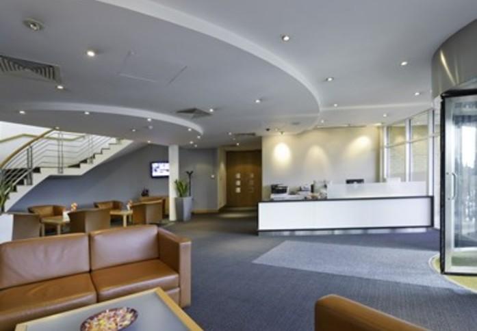 Wellington Way KT13 office space – Reception
