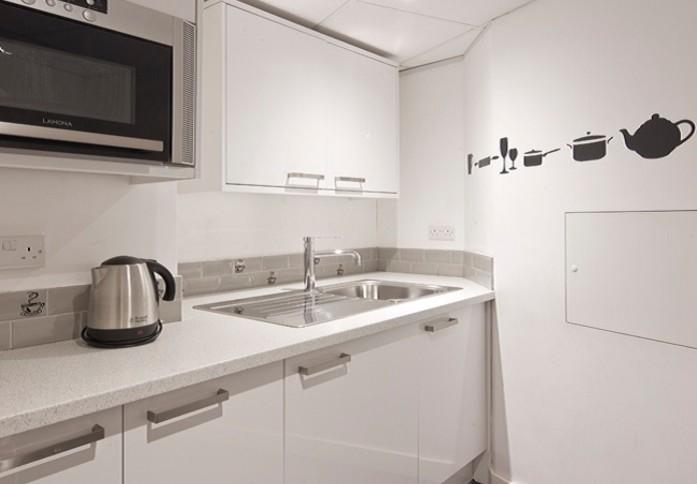 Kings Cross Road WC1 office space – Kitchen