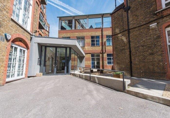 Westminster Bridge Road SE1 office space – Building External