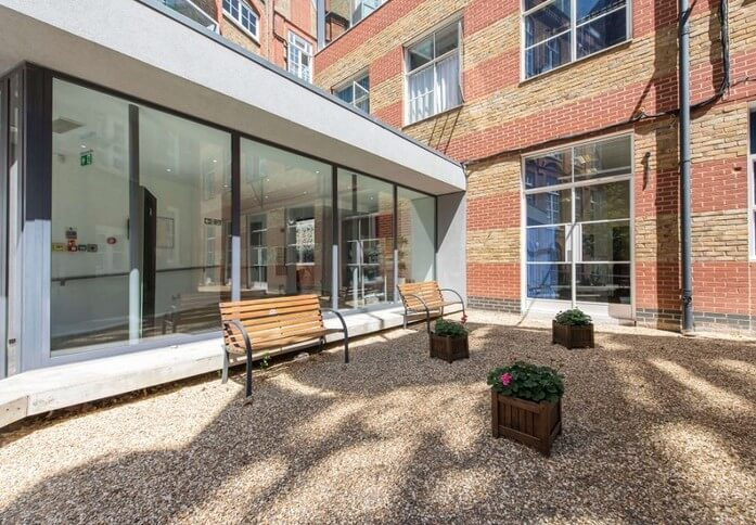 Westminster Bridge Road SE1 office space – Outdoor Area