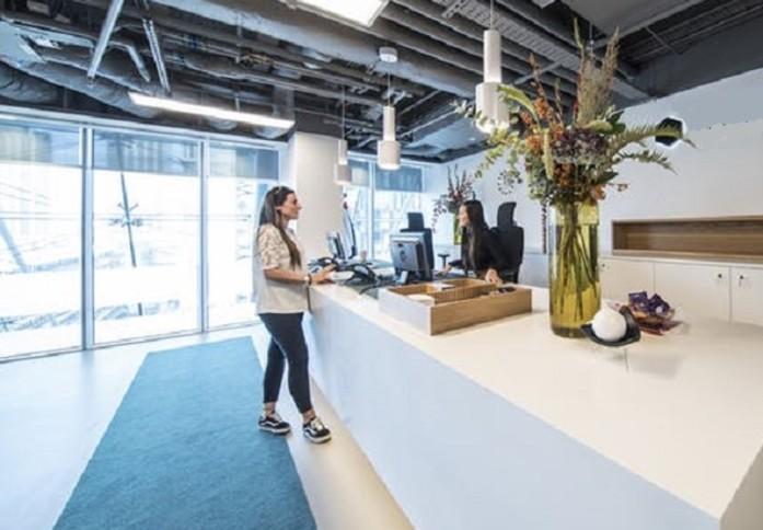 Ropemaker Street EC2 office space – Reception
