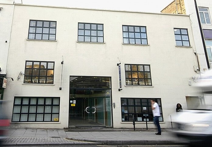 Bayham Street NW1 office space – Building External