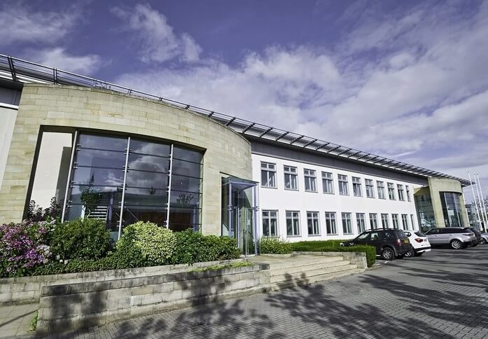 Lochside Place EH1 office space – Building External