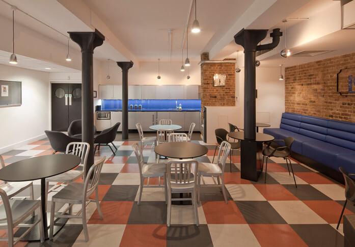 Brune Street E1 office space – Kitchen
