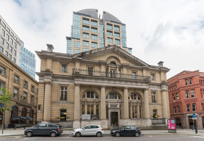 King Street M1 office space – Building External