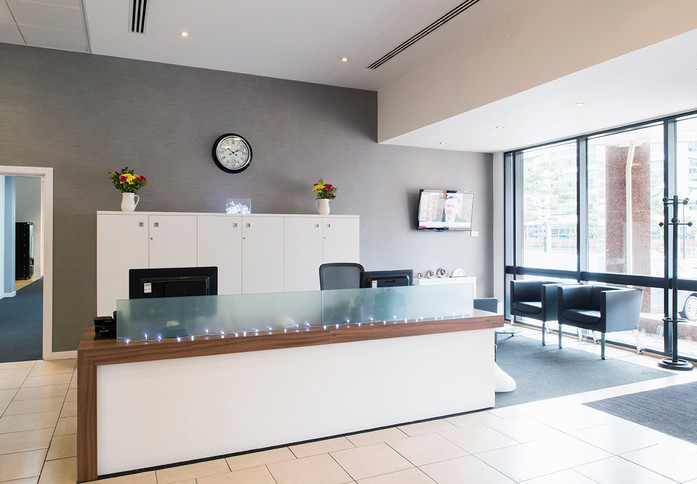 Falcon Drive CF10 office space – Reception