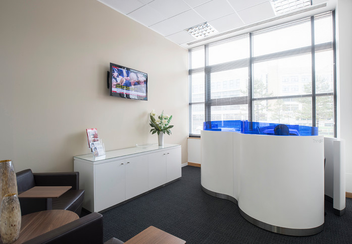 Falcon Drive CF10 office space – Break Out Area