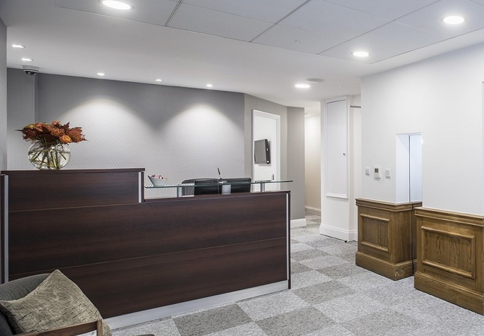Margaret Street W1 office space – Reception