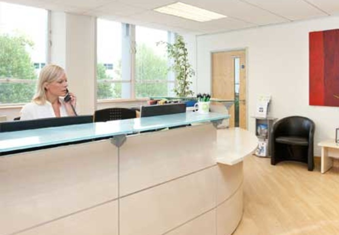 Great West Road TW8 office space – Reception