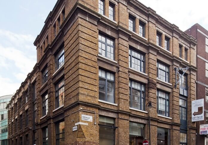 Greville Street EC1 office space – Building External