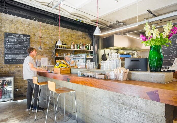 Clerkenwell Close EC1 office space – Restaurant