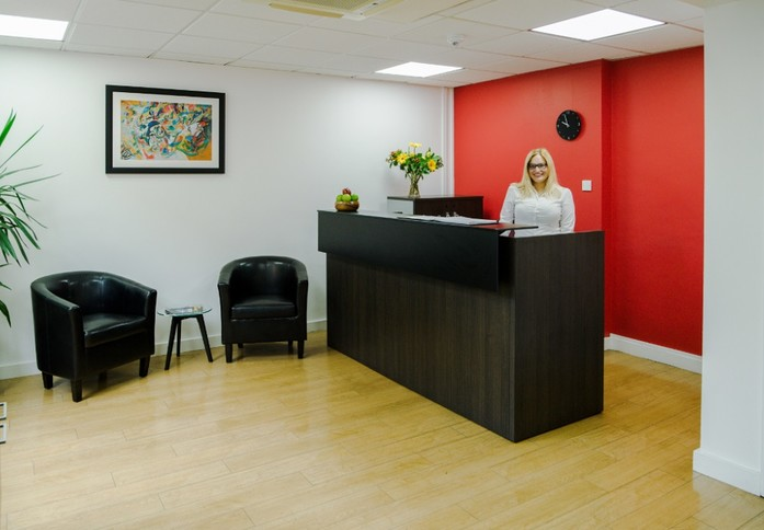 Boston Manor Road TW8 office space – Reception