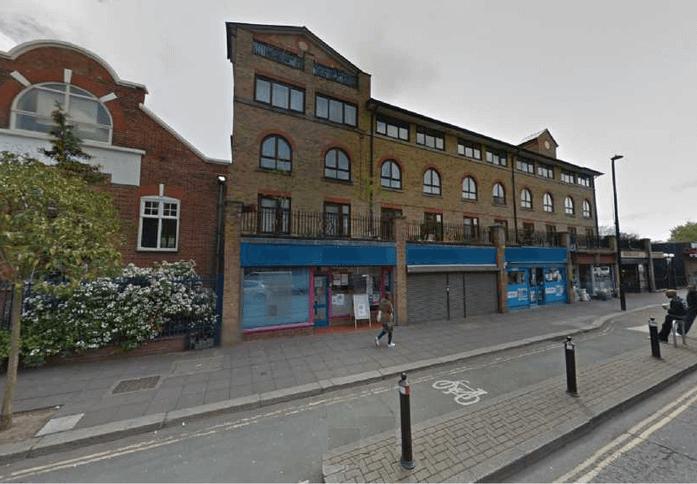 Crown Street W10 office space – Building External