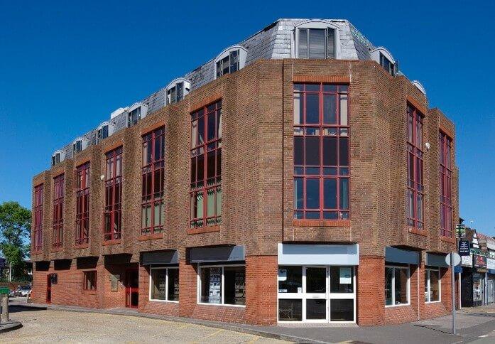Uxbridge Road UB3 office space – Building External