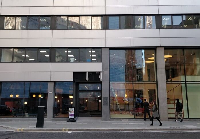 Minories E1 office space – Building External