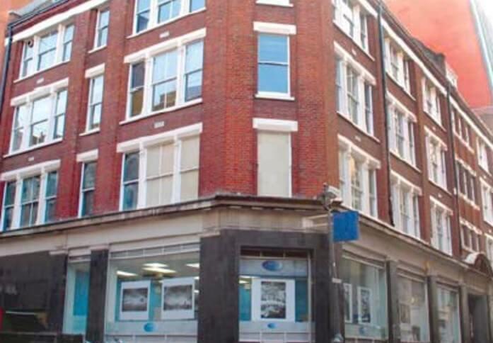 Ramillies Street W1 office space – Building External