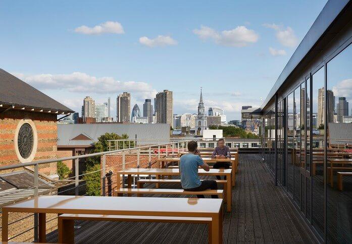 Pine Street N4 office space – Outdoor Area