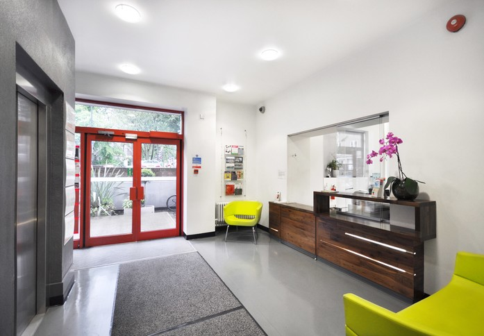 Essex Road N1 office space – Reception