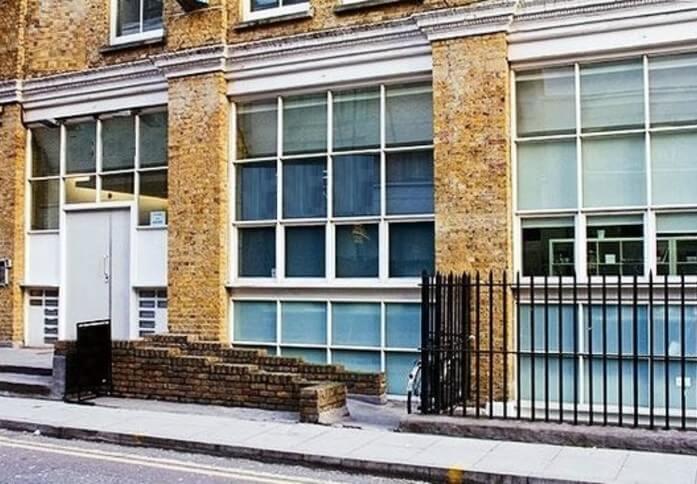 Provost Street EC1 office space – Building External