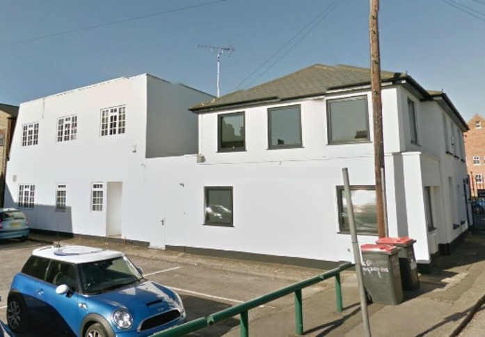 Burroughs Gardens NW2 office space – Building External