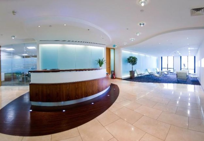 Canada Square E14 office space – Reception