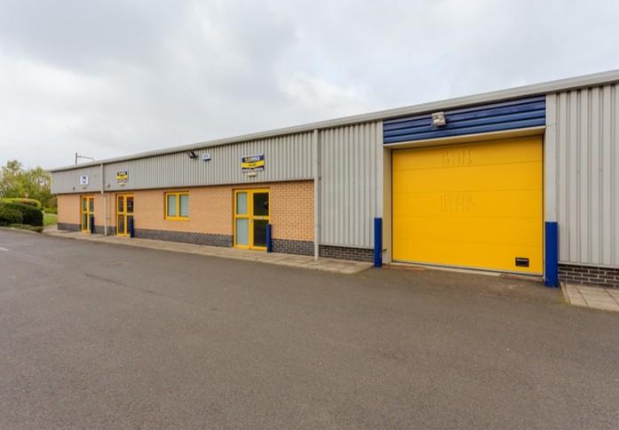 Harvest Road EH1 office space – Building External