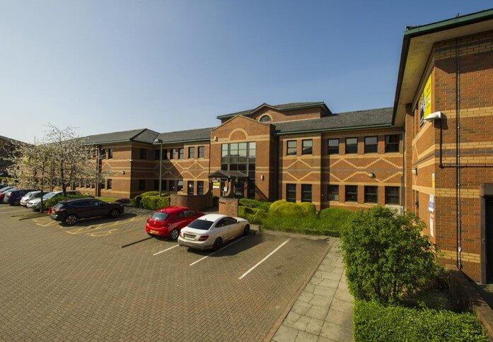 Summerhouse Road NN1 - NN6 office space – Building External