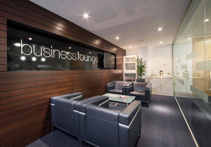 Wellington Place LS1 office space – Break Out Area