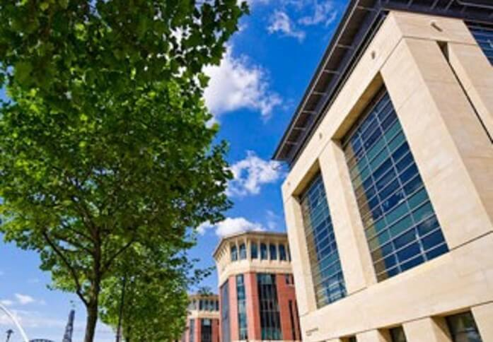 Quayside NE1 office space – Building External