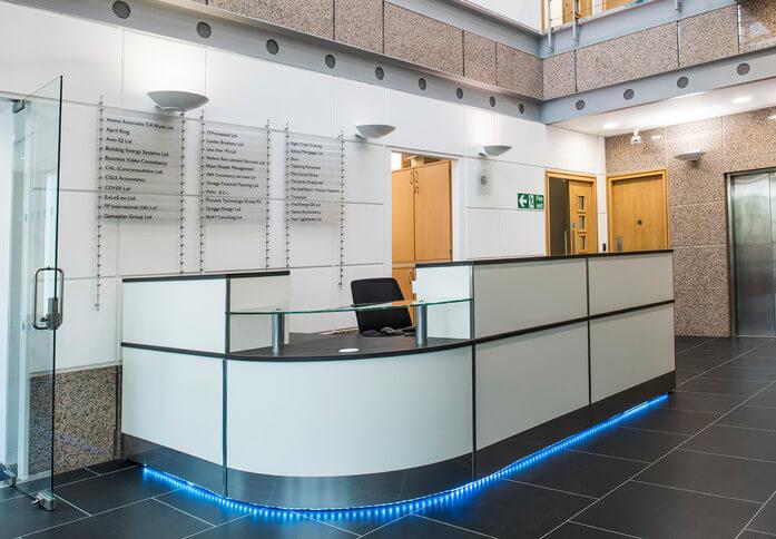 Pavillion Drive NN1 - NN6 office space – Reception