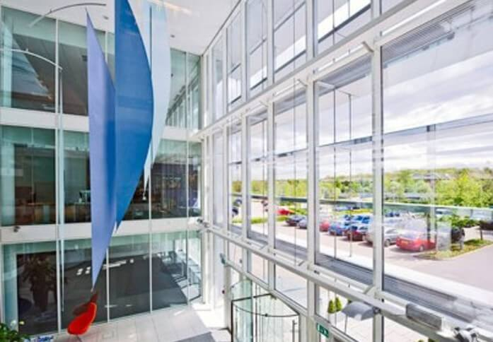 Solent Business Park PO14 - PO17 office space – Foyer