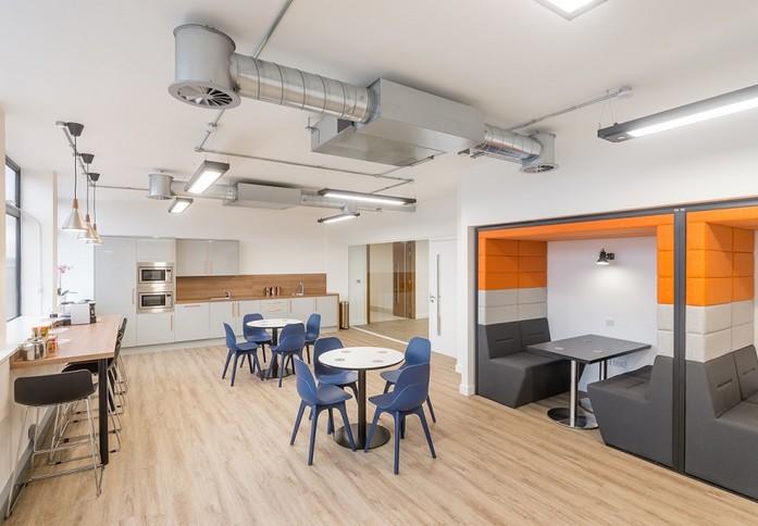Portland Street M1 office space – Kitchen