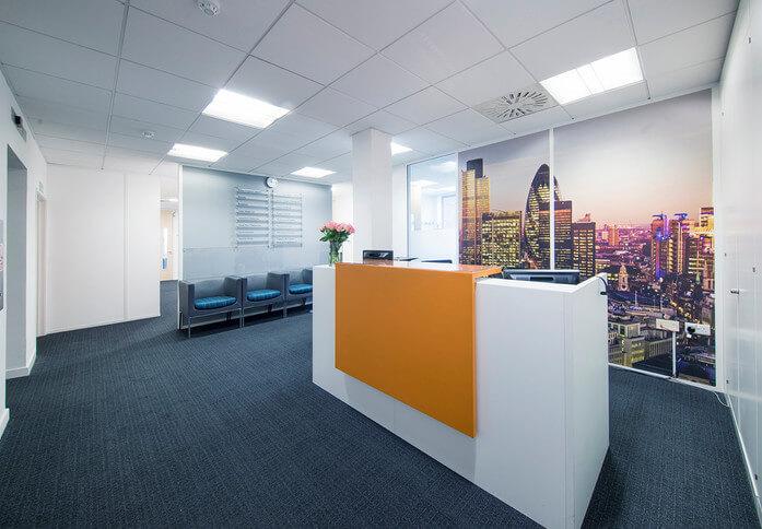 Victoria Road CM1 office space – Reception