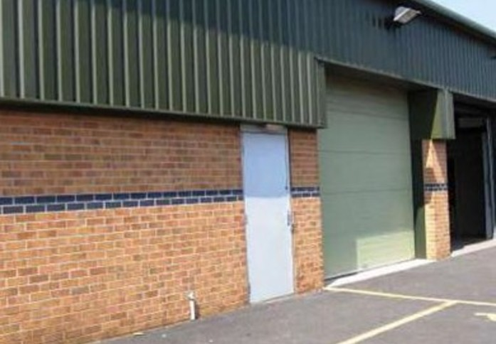 Knowles Lane BD1 office space – Building External