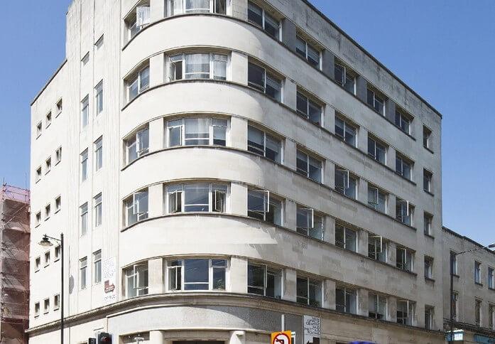 High Street BS1 office space – Building External