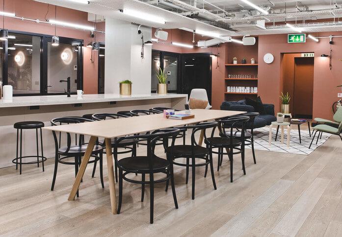 Kirby Street EC1 office space – Break Out Area