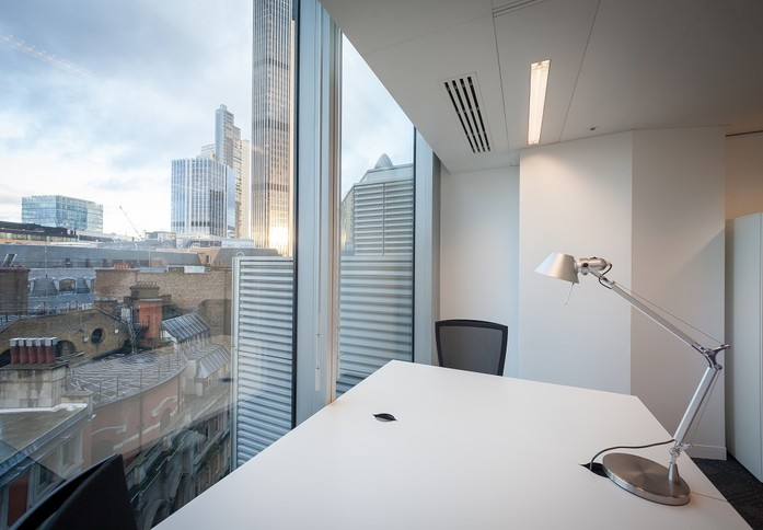 Old Broad Street EC2 office space – Private Office (different sizes available)