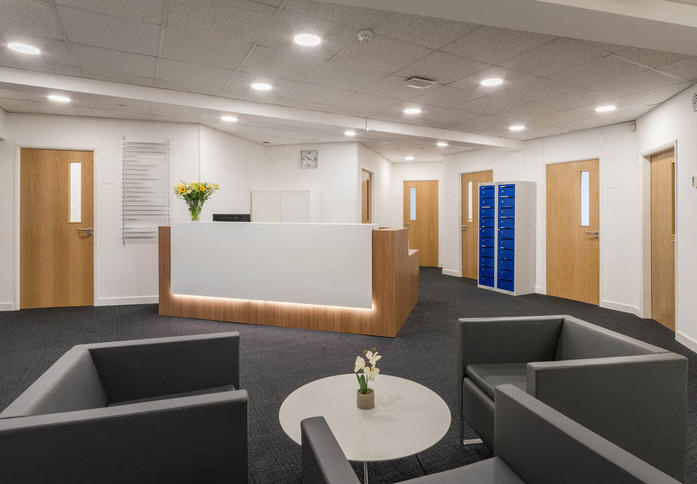 Oakdale Road YO1 office space – Reception