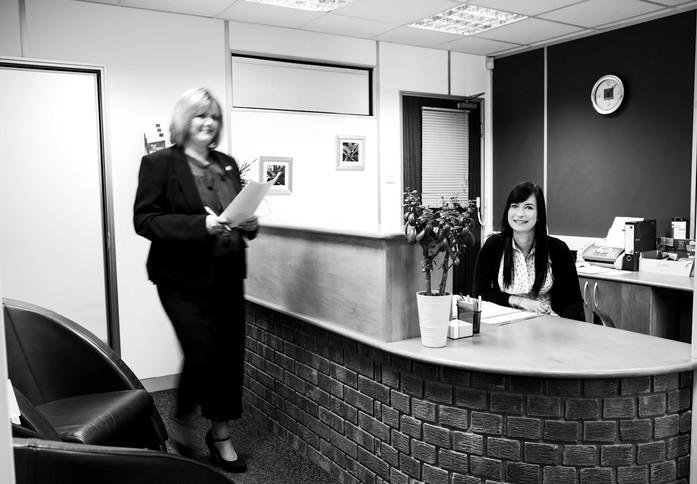 London Road RH15 office space – Reception
