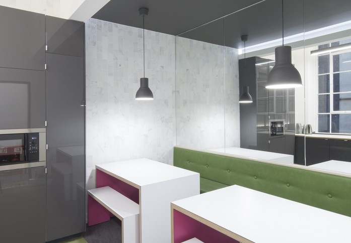 Queen Street G1 office space – Break Out Area
