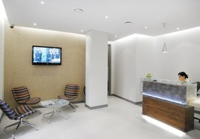 Pepper Street E14 office space – Reception