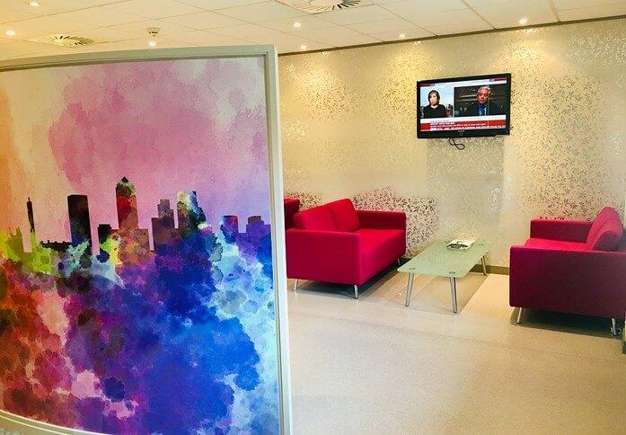 Pepper Street E14 office space – Break Out Area