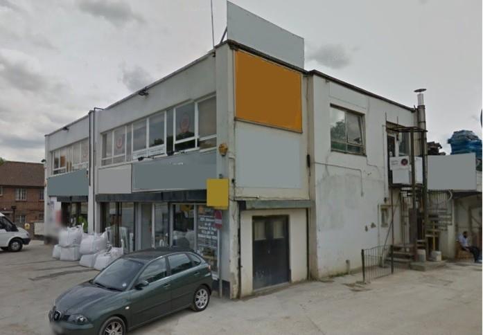 Gap Road SW19 office space – Building External